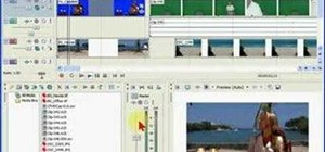 Set project properties in Sony Vegas & Movie Studio