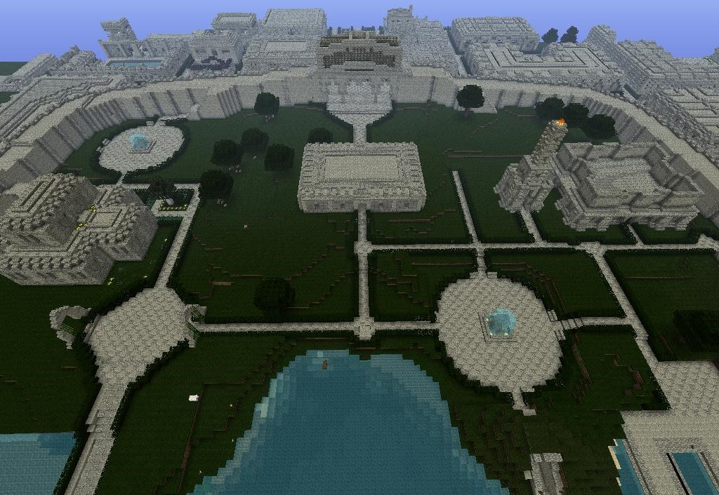 Techniques for Creating Architecture in Minecraft