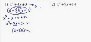 How to Factor quadratic trinomials by trial and error « Math ...