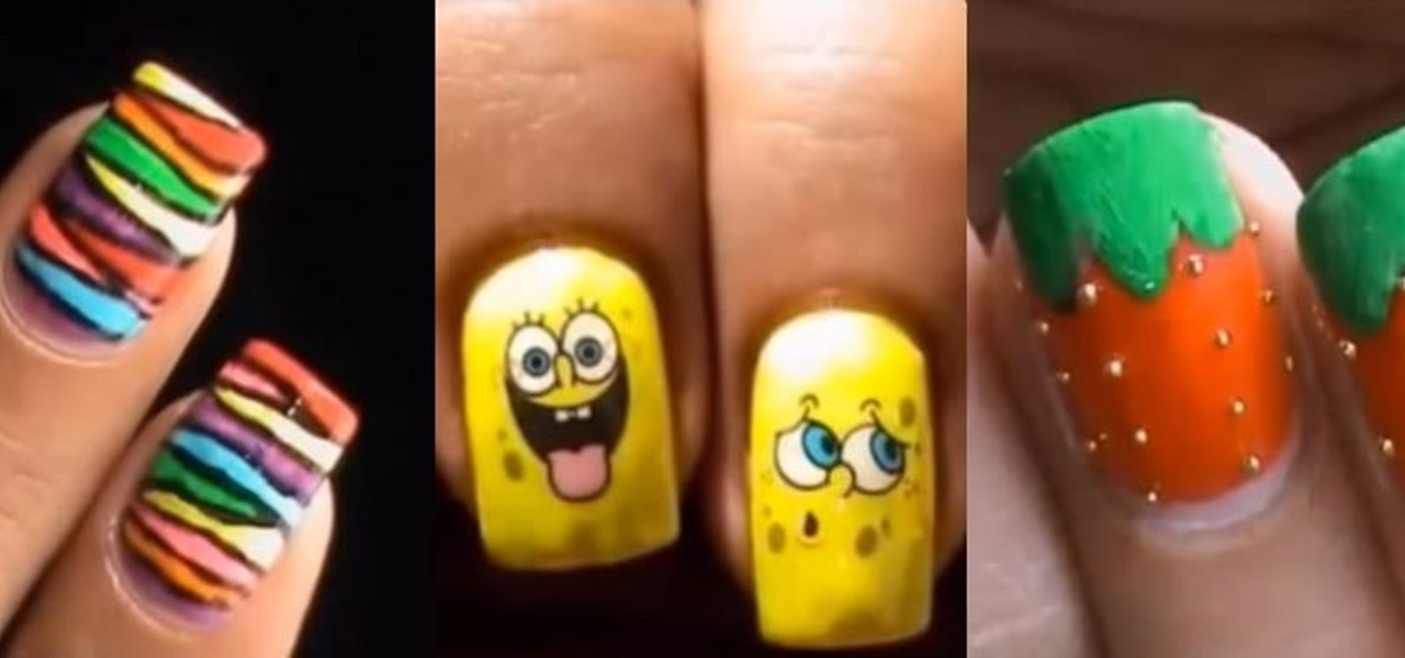 Easy Nail Designs That Kids Can Do Industrifo