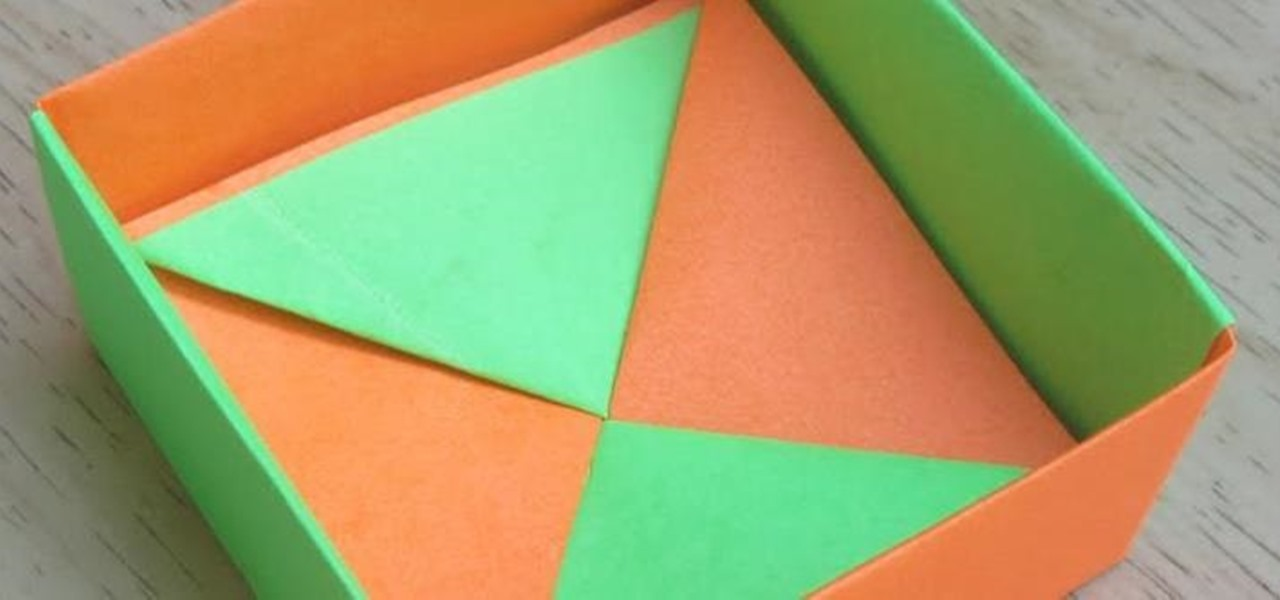 How to Make an Origami Square Box (Base) (Tomoko Fuse) « Origami ... | 600x1280
