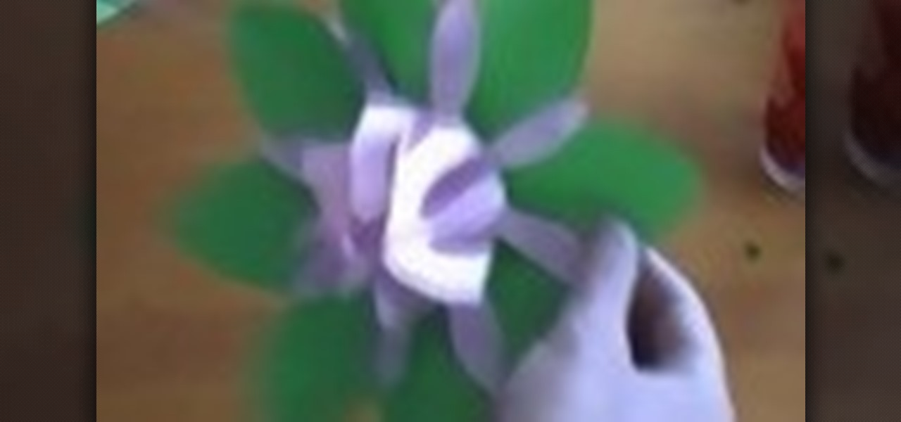 How To Make A 3D Paper Flower Papercraft WonderHowTo