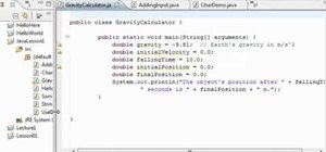 Create a simple math program with Java