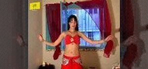 Shimmy in belly dancing