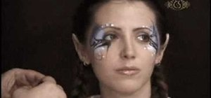 Beautify yourself with a glittery fairy look