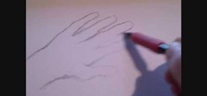 Draw a severed hand