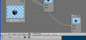 Use the Node Editor Window in Blender 2.4 or 2.5