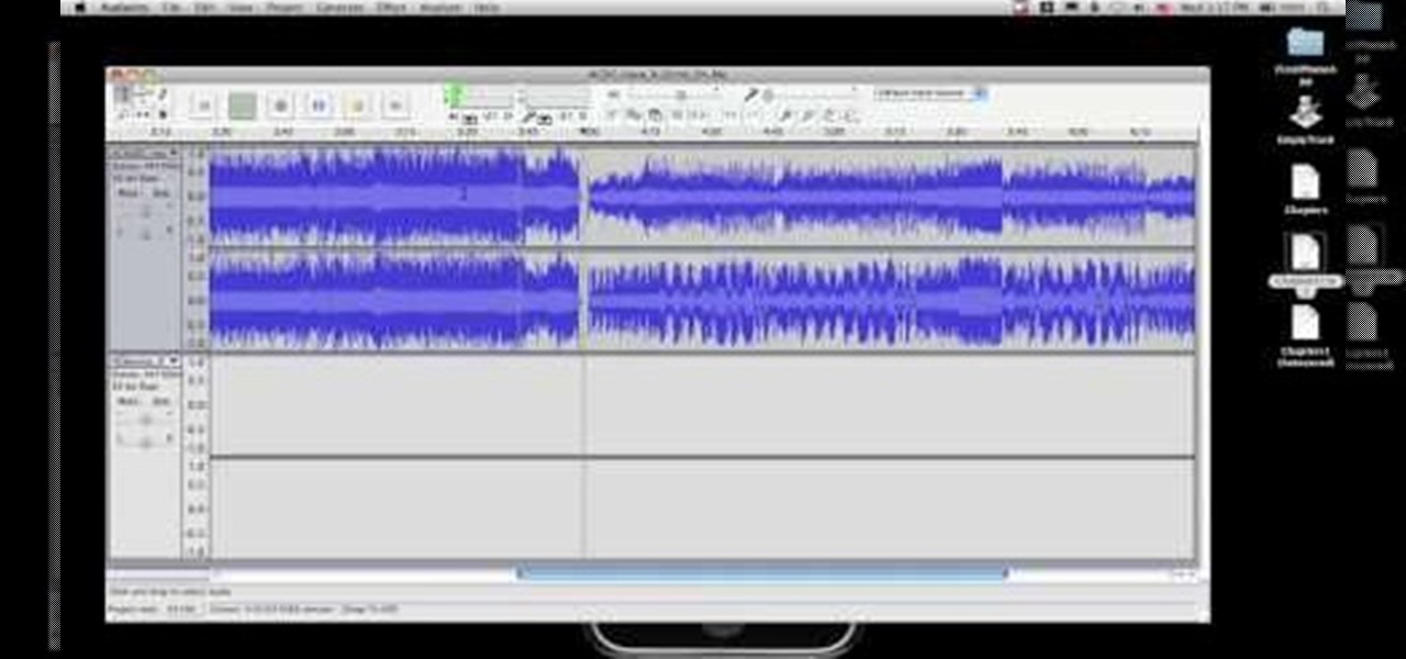 how to combine audio tracks in audacity audacity wonderhowto. Black Bedroom Furniture Sets. Home Design Ideas
