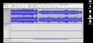 Combine audio tracks in Audacity