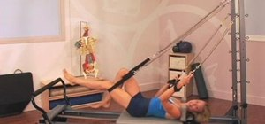 Perform open and closed chain sequences in Pilates