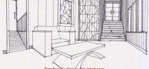 Draw a room with stairways using complex levels