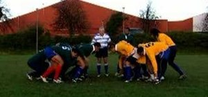 Scrum in rugby with the new 2007 Scrum Law