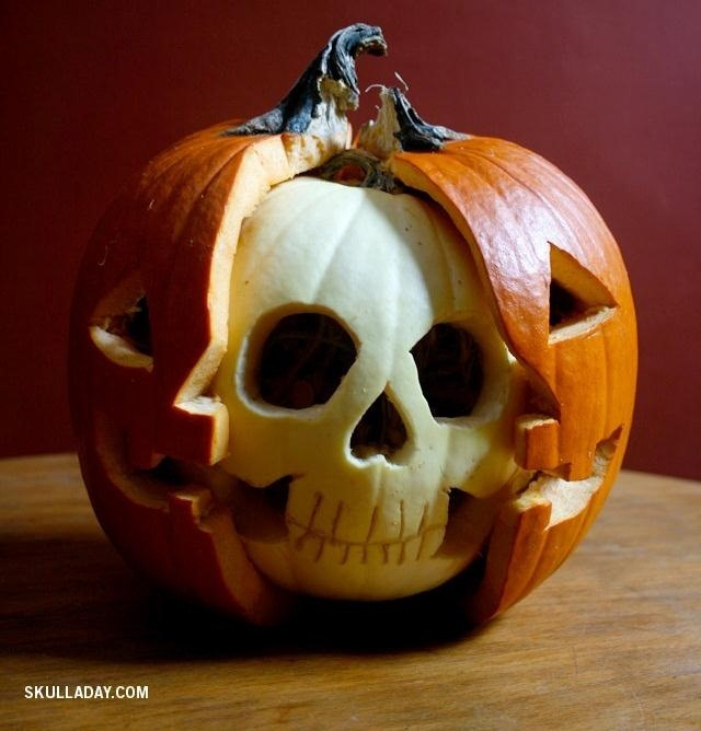 This Skillfully Carved Jack O Lantern Lets You Perform Experimental Pumpkin Brain Surgery