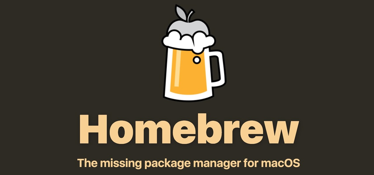 How to Set Up Homebrew to Install & Update Open-Source Tools