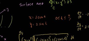 Solve a line integral over a closed path