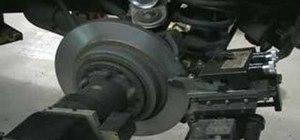 Cut a rotor