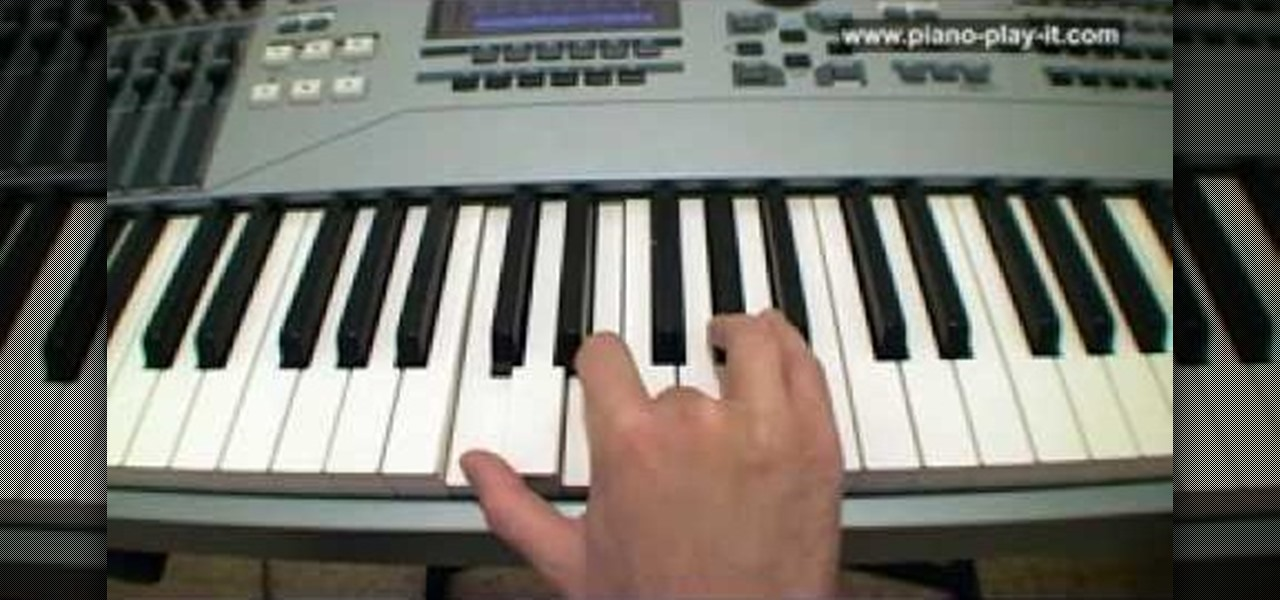 How To Play Augmented Chords On A Piano Or Keyboard Piano