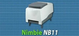 Use LightScribe with a Nimbie NB11 disc burner