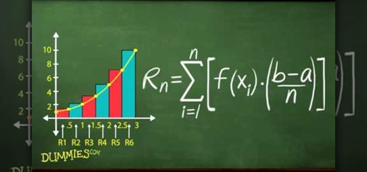 How To Find Approximate Area With Sigma Notation For Dummies Math