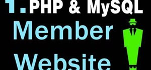 Create a membership system for a website with PHP and MySQL