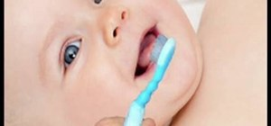 Care for your baby's first teeth