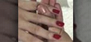 Do a salon-perfect manicure at home