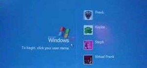 Log in to Windows XP if you've lost your password
