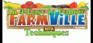 Easily increase your money in Farmville without cheating