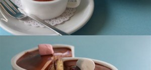genius idea - hot chocolate cupcake