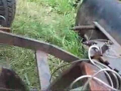 Mount a front blade on a 60 - 70 Simplicity tractor