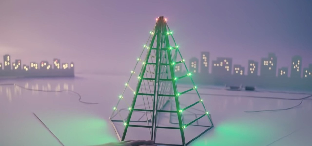 Watch This $15 Conductive Marker Create a Magical Circuit Board Christmas Village