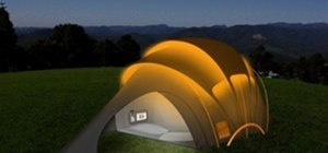 Solar Powered Tent!!!