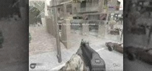 Do a pro nade attack in Crossfire on COD4