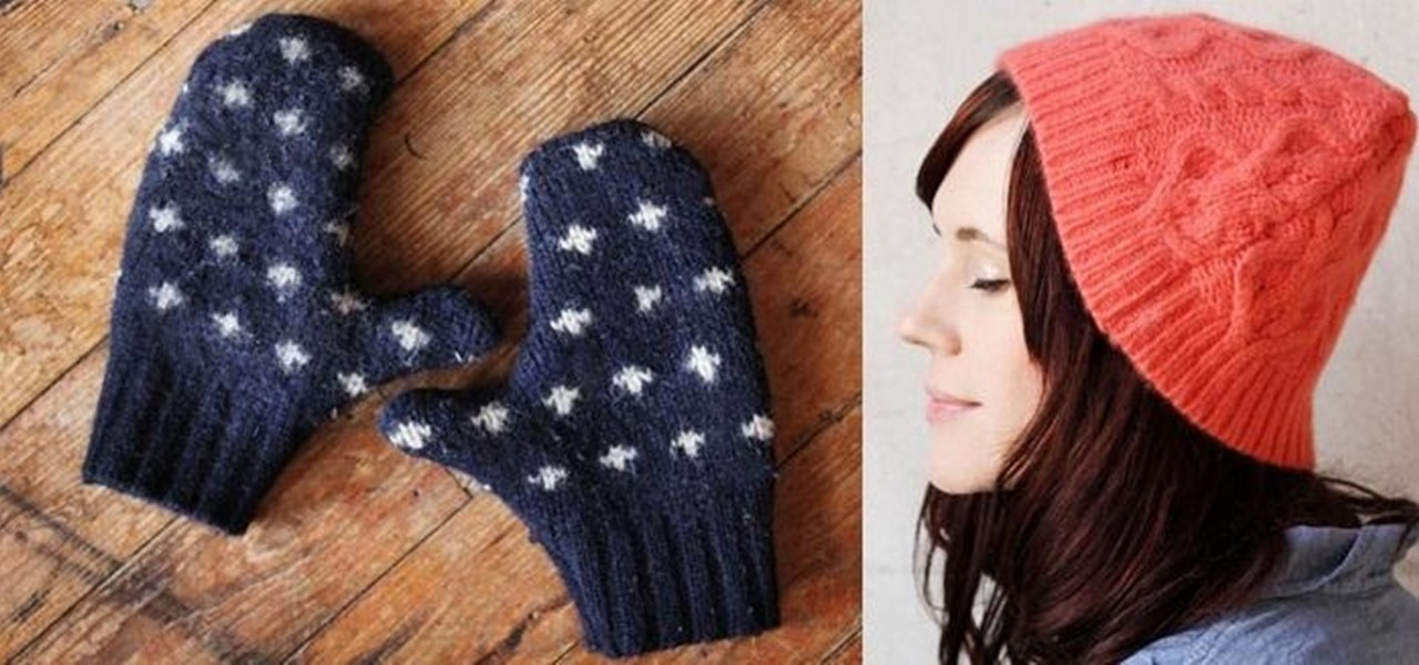 Repurpose Your Heinous Christmas Sweaters into Useful Winter Hats & Mittens