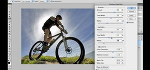 Fix backlighting problems in Adobe Photoshop CS5
