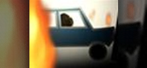 Save someone trapped in a burning car