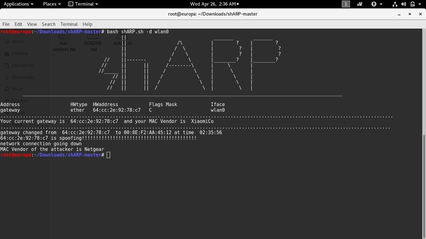 Prevent Your Network from Being ARP-Spoofed with shARP.