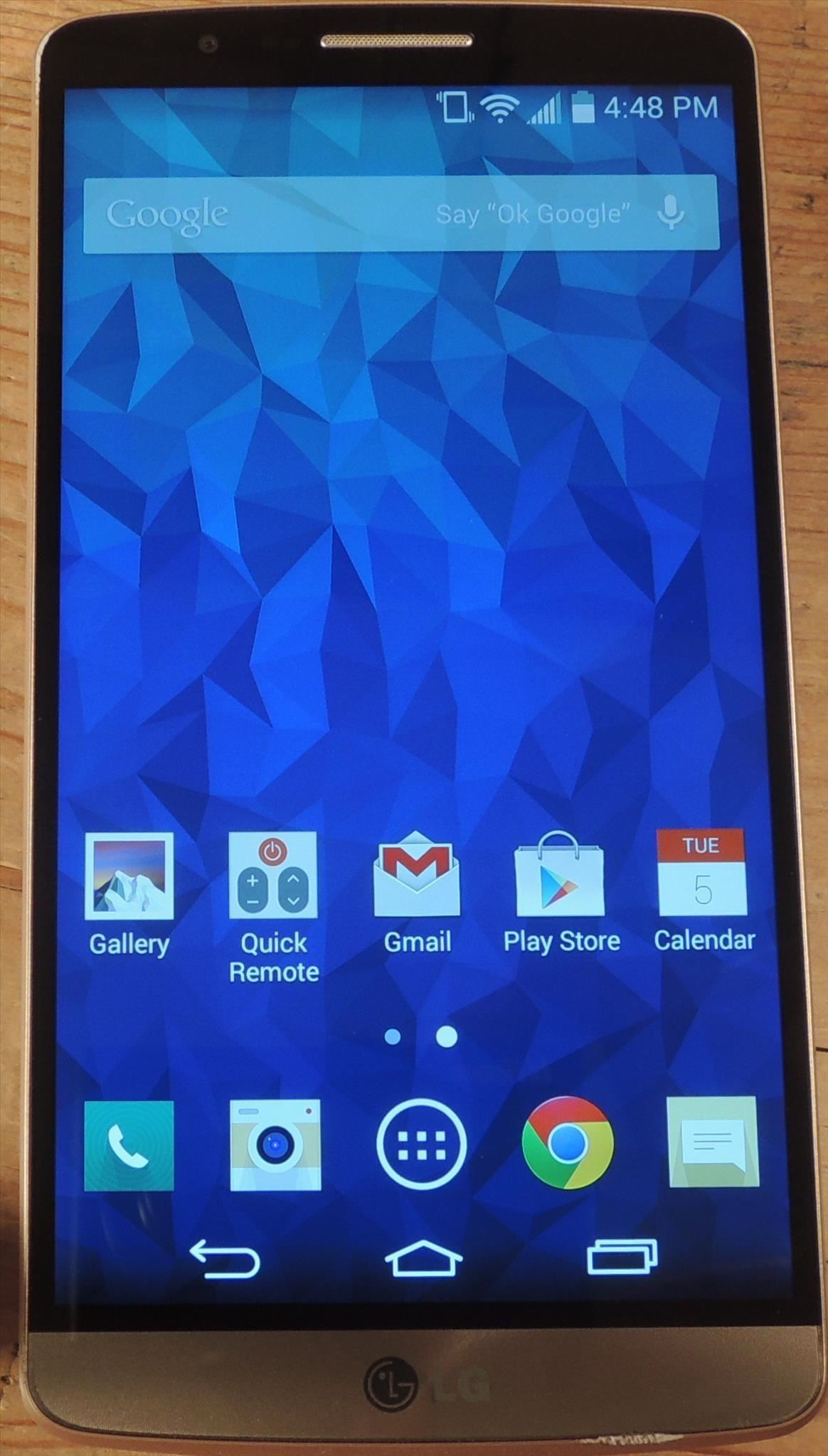 How to Adjust Contrast & Hue Levels on Your LG G3 for a More Vivid Display
