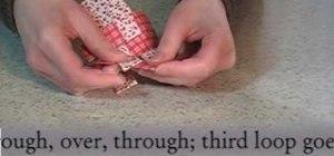Make Danish woven fabric hearts