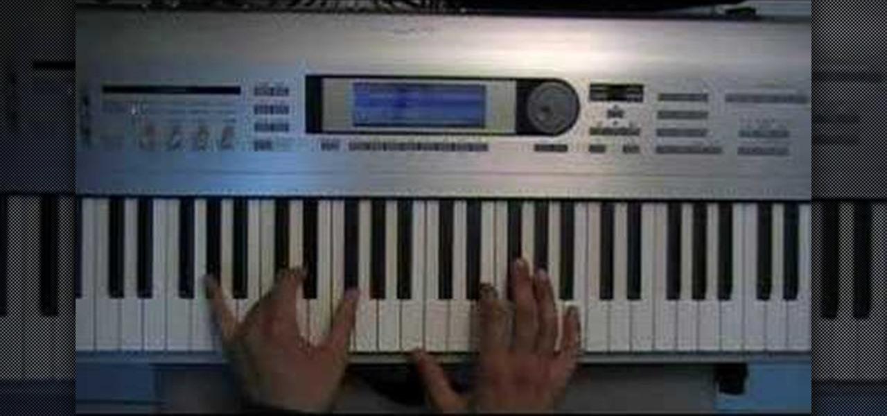 how to play billy joel pressure on keyboard