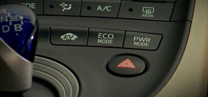 Choose which driving mode to use in the 2010 Prius