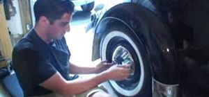 Remove hubcaps from a VW Beetle Volkswagen Bug
