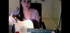"Play ""Who Says"" by Selena Gomez on guitar"