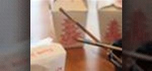 Follow chopstick etiquette