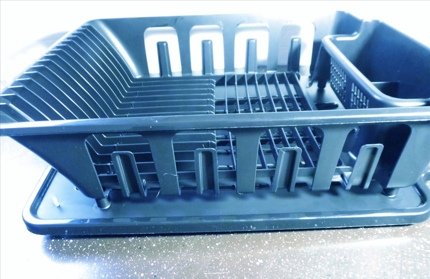 How to Slope Your Dish Rack Pan for Perfect Draining