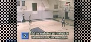 Practice catch and shoot basketball drills