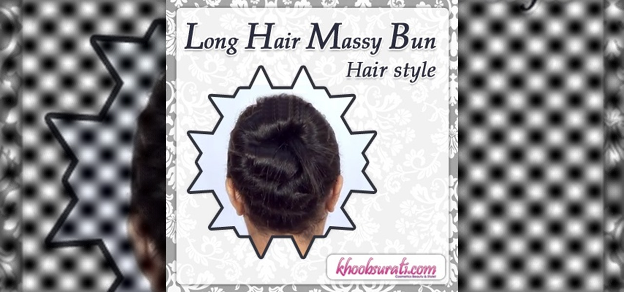 Long Hair Messy Bun