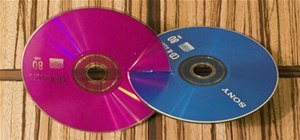 Make a Two Circle Wobbler from CDs