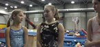 How to Perform tricks on a balance beam in gymnastics