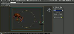 Create a sand creature with Krakatoa in 3ds Max 2010
